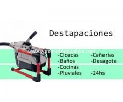 destapaciones en san isidro 15 2226-8822