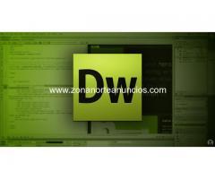Curso Diseño Web Dreamweaver en San Isidro