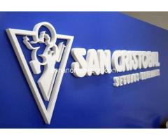 Letras corporeas 3D en San Isidro San Fernando