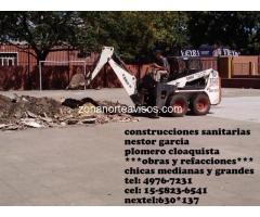 construcciones y mantenimiento